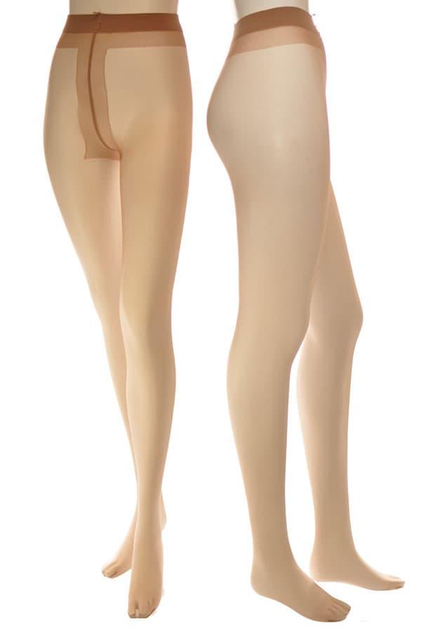 セクシー下着の通販商品:極薄8デニール・パンティストッキング・ベージュ・イメージ写真1