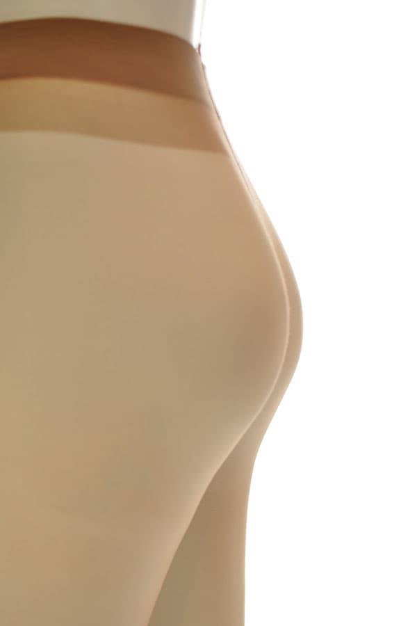 セクシー下着の通販商品:極薄8デニール・パンティストッキング・ベージュ・イメージ写真2
