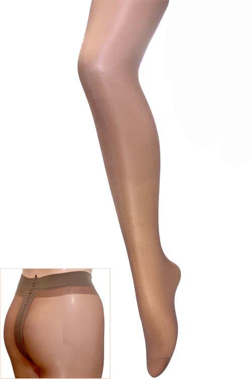 セクシー下着の通販商品:光沢グロス・薄手20デニール・パンティストッキング・カプチーノ・イメージ写真2