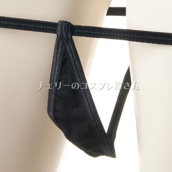 セクシー下着の通販商品:マイクロビキニ・黒・イメージ写真5