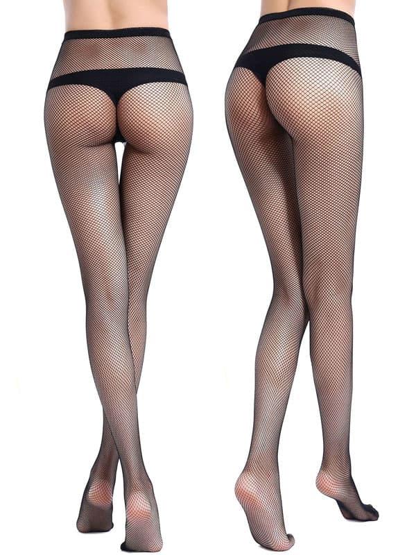 セクシー下着の通販商品:網パンティストッキング・黒・イメージ写真5