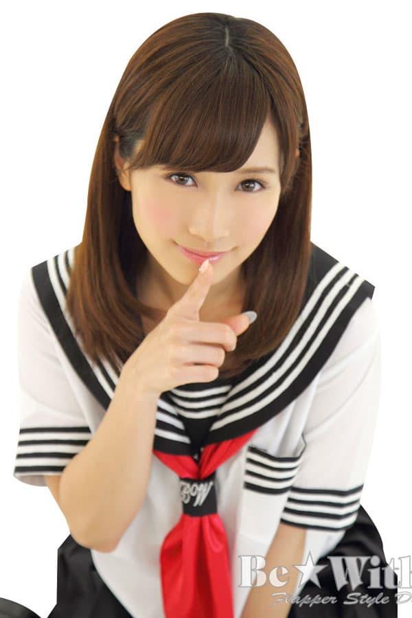 セクシー下着の通販商品:セーラー服(白/黒)・半袖・スカーフ・イメージ写真4