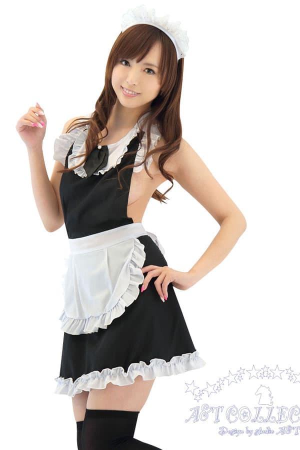 セクシー下着の通販商品:キッチンへGO!メイド裸エプロン・イメージ写真1