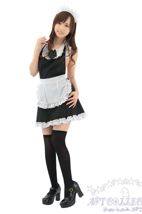 セクシー下着の通販商品:キッチンへGO!メイド裸エプロン・イメージ写真2