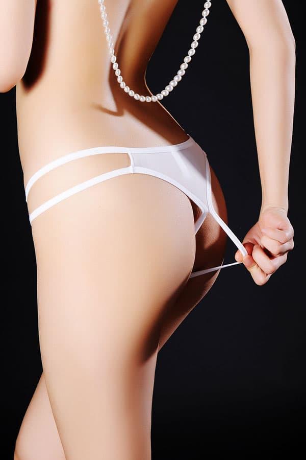 セクシー下着の通販商品:麗しのオープンTバック・イメージ写真4