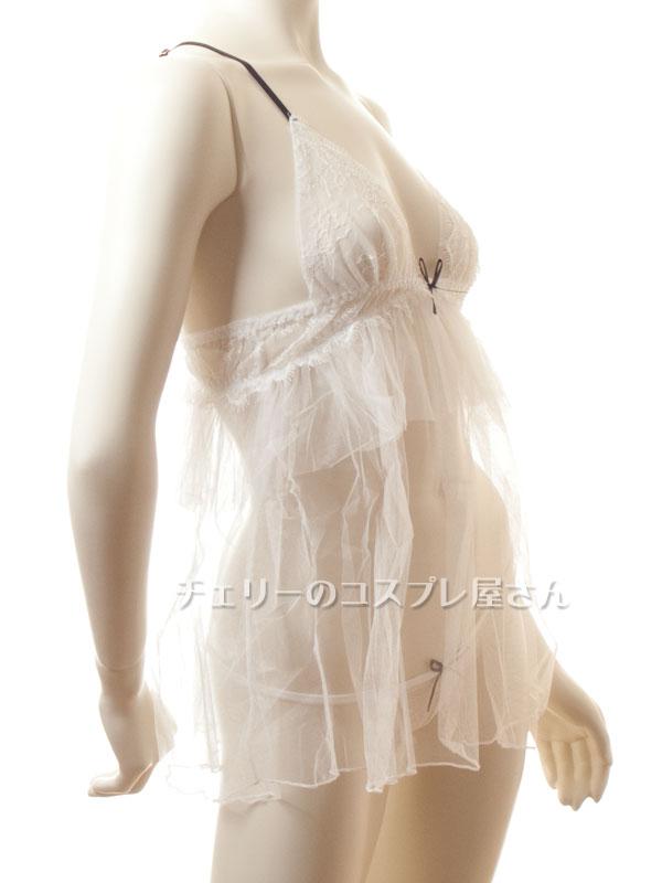 セクシー下着の通販商品:レイヤー・オーガンジー・ベビードール・イメージ写真9