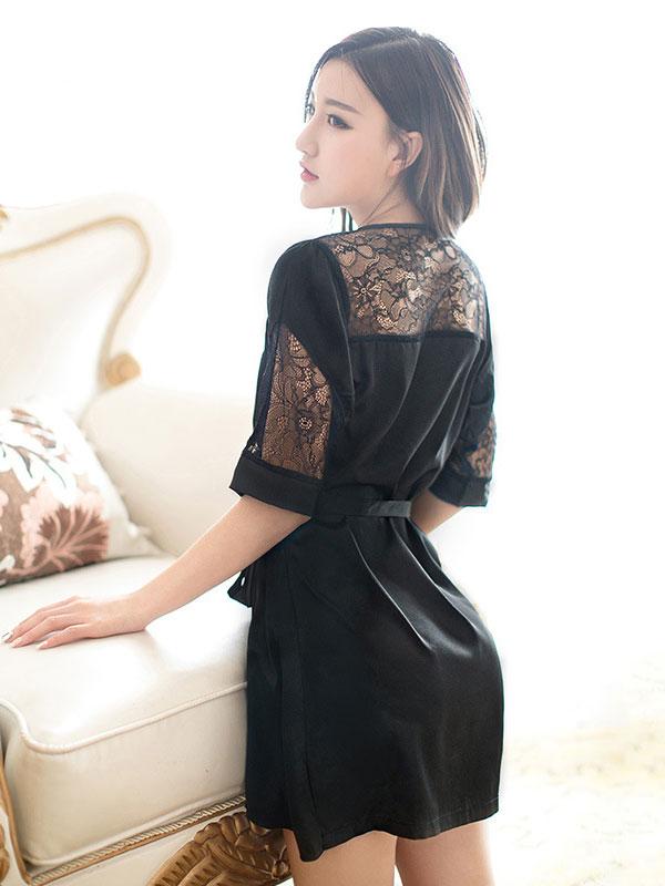 セクシー下着の通販商品:魅惑のショートナイトガウン・イメージ写真4