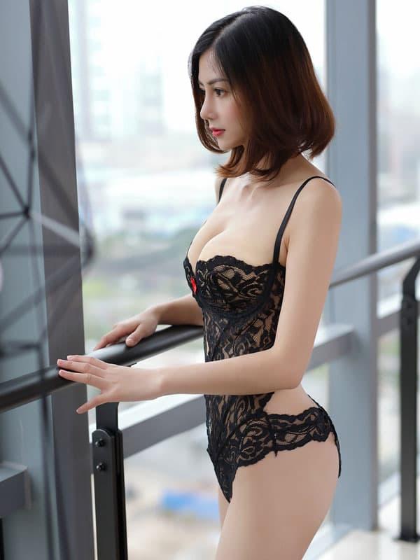 セクシー下着の通販商品:ワイヤー入・セクシーテディ・イメージ写真4