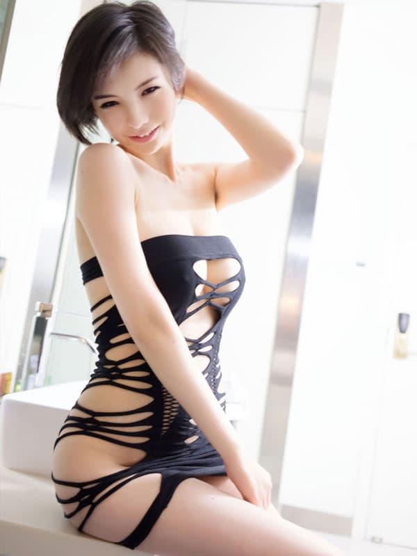 セクシー下着の通販商品:サイドストリング・チューブドレス・イメージ写真3