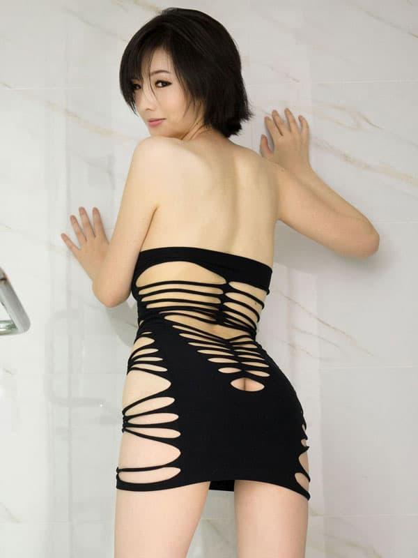 セクシー下着の通販商品:サイドストリング・チューブドレス・イメージ写真5