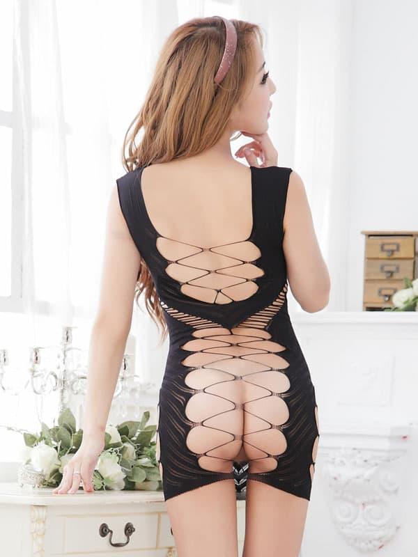 セクシー下着の通販商品:ストリングメッシュ・ドレス・イメージ写真4