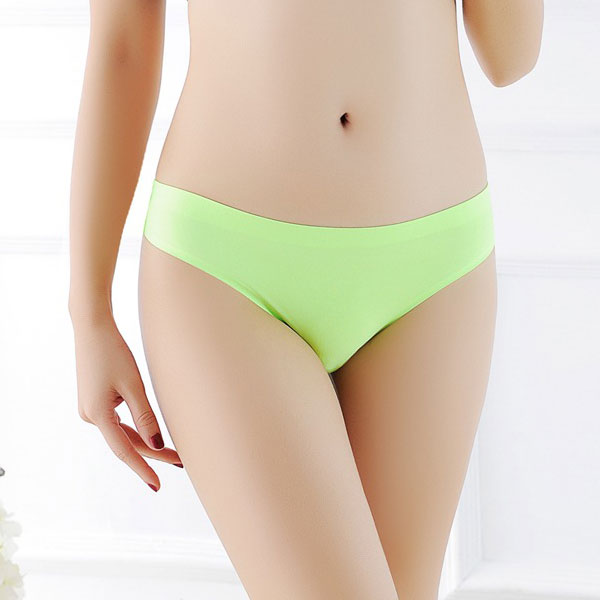 セクシー下着の通販商品:ショーツラインが目立たない・フィットTバック・蛍光グリーン・イメージ写真1