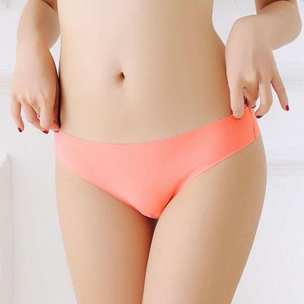 セクシー下着の通販商品:ショーツラインが目立たない・フィットTバック・蛍光オレンジ・イメージ写真1