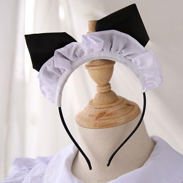 セクシー下着の通販商品:ハートオープン・猫耳メイドドレス・イメージ写真5
