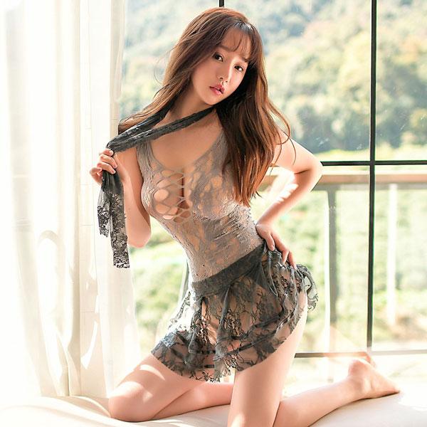 セクシー下着の通販商品:ワイルド・ストッキング・ワンピースドレス・イメージ写真