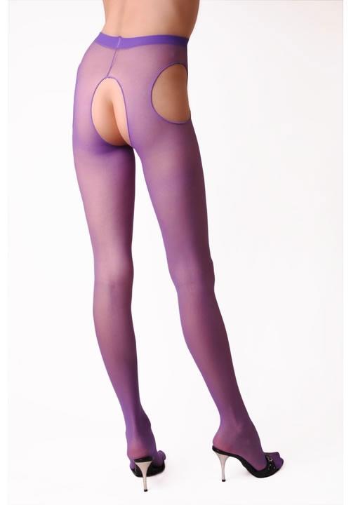 セクシー下着の通販商品:サスペンダーパンティストッキング・紫・イメージ写真1