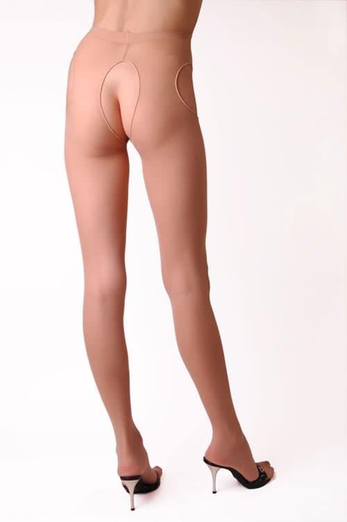 セクシー下着の通販商品:サスペンダーパンティストッキング・ベージュ・イメージ写真1